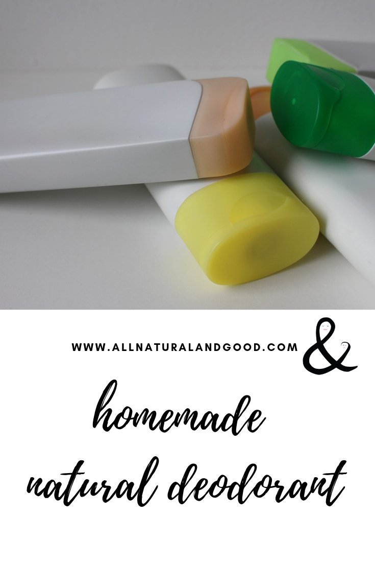Make your own homemade natural deodorant at home that is aluminum free and non-toxic. This recipe can be made without baking soda also.