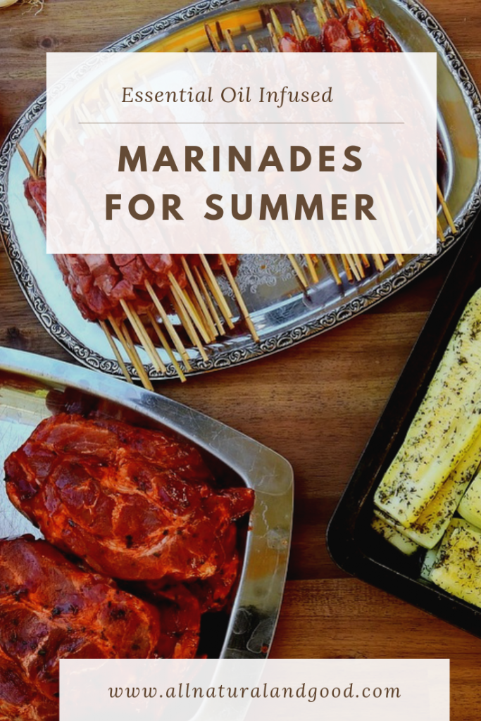 Essential Oil Infused Marinades for Summer