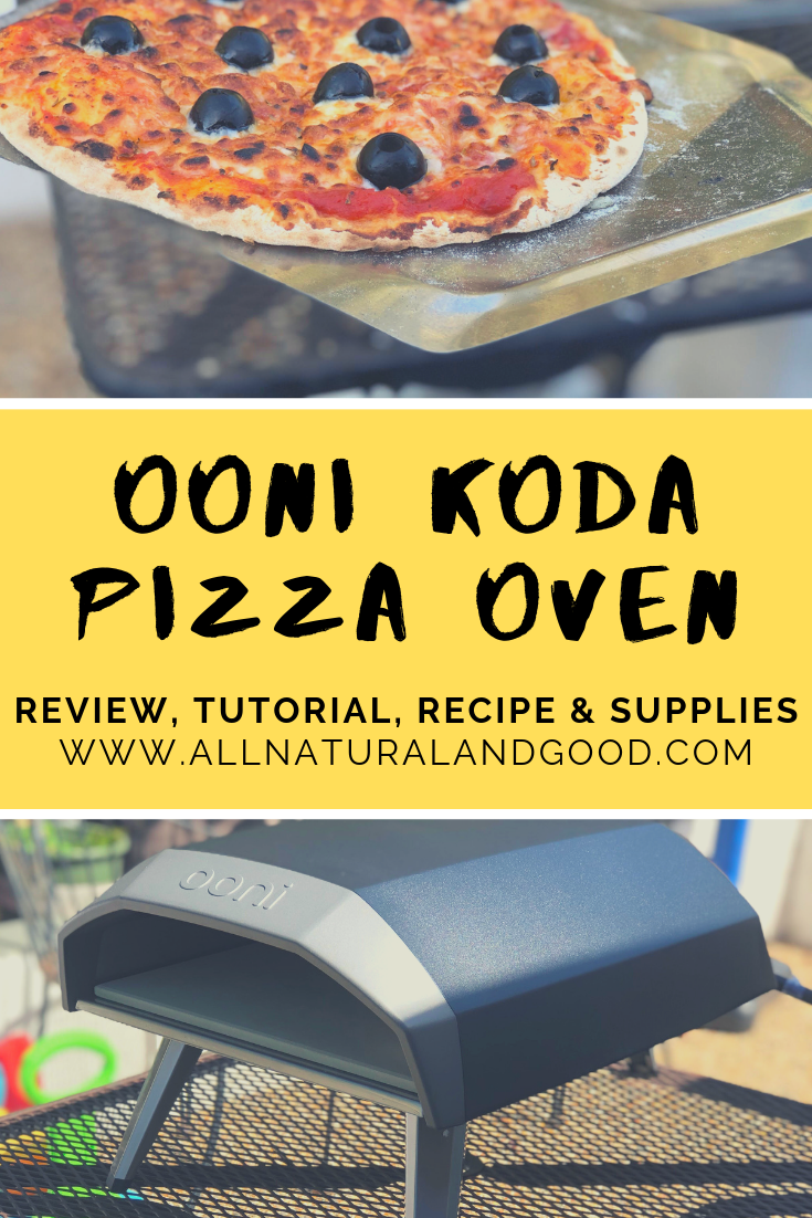The OONI Koda is a portable space saving gas powered pizza oven for making the most exceptional restaurant style pizzas in your own backyard. Perfect for summer barbecues, family get-togethers and hosting friends for a make your own pizza night! Find OONI pizza recipes here too! #pizzaoven #diy #woodfiredpizza #homemadepizza