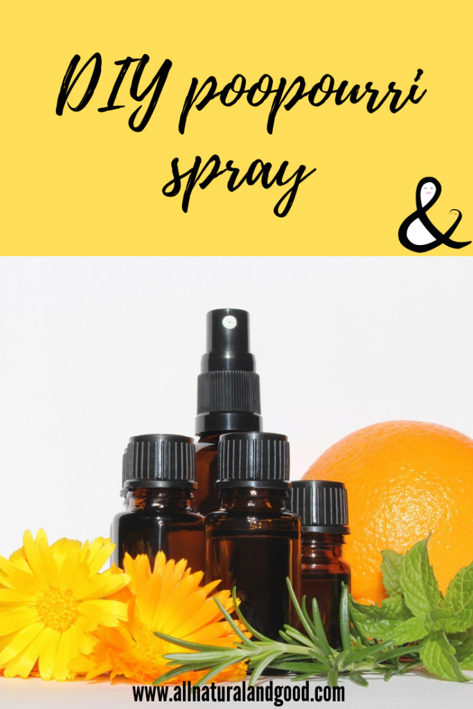 DIY Poopourri Spray