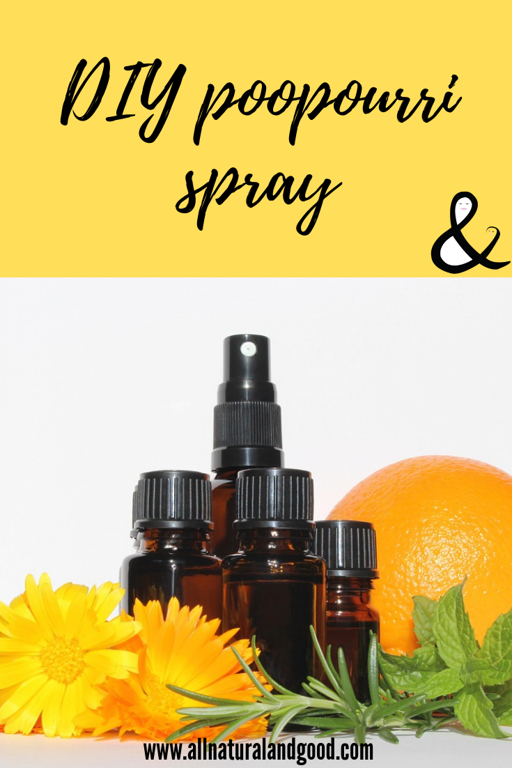 DIY homemade poopourri toilet spray eliminates odors before they begin, naturally! #poopourri #toiletspray