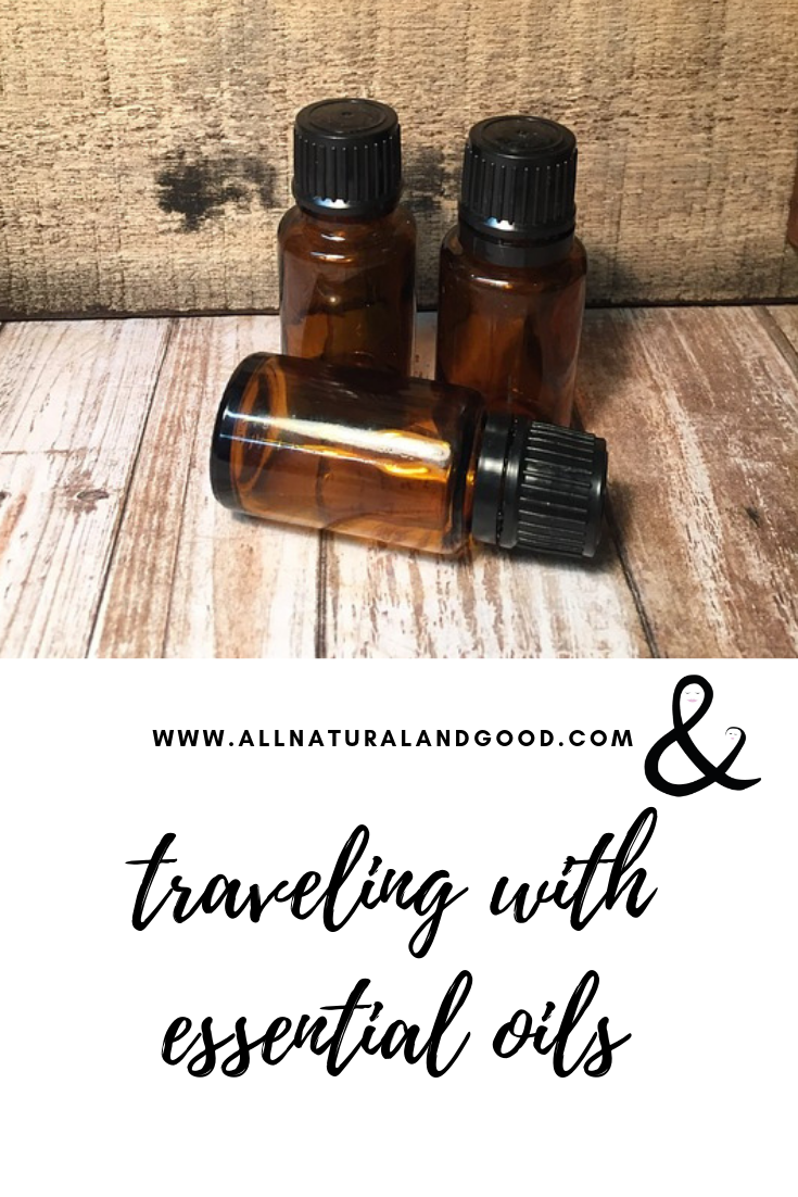 Traveling with essential oils is easy with this guide which includes TSA friendly and must-have oils to bring on your travels. #essentialoils #travel #traveling #tsafriendly
