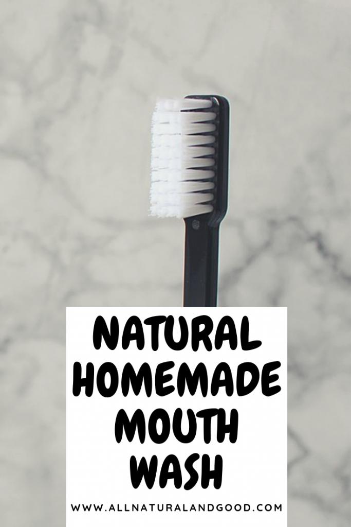 Natural Homemade Mouth Wash