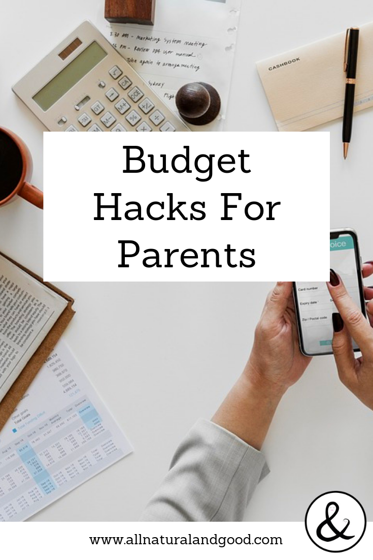 Budgeting doesn\'t have to take the fun out of life. I hope you find these budget hacks for parents to be useful. #familybudget #budgeting #frugalideas
