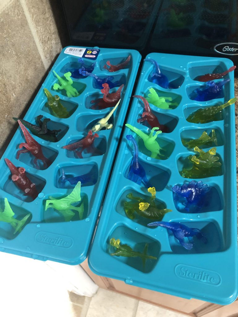Dinosaur Ice Cube Egg Excavation