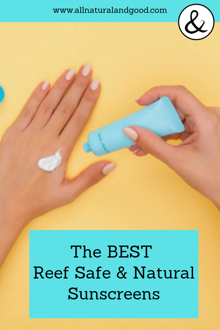 Check the rating of your sunscreen, which ingredients to avoid and the best all natural and reef safe options to prevent skin cancer and enjoy some fun in the sun safely. #nontoxic #naturalsunscreen #reefsafe