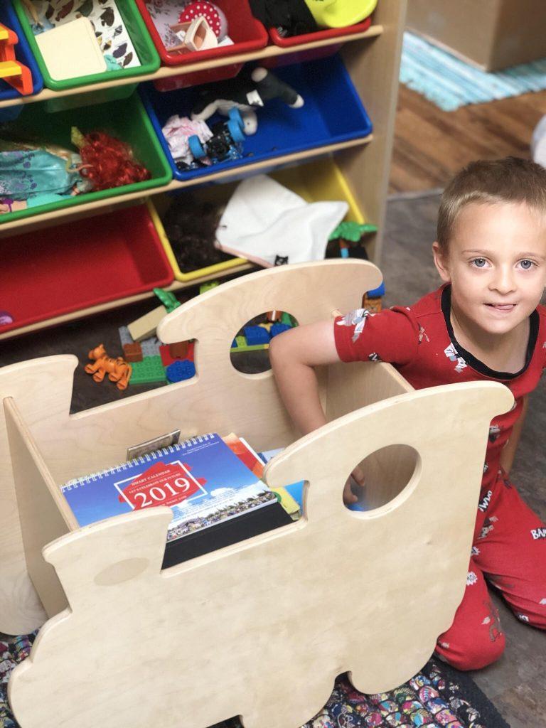Non-Toxic Wooden Toy Box