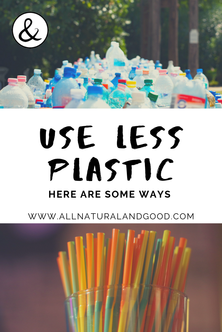 Here are some ways to use less plastic. Even recycling does not solve the problem. Plastic is harming our oceans and its wildlife. #reduce #reuse #plastic