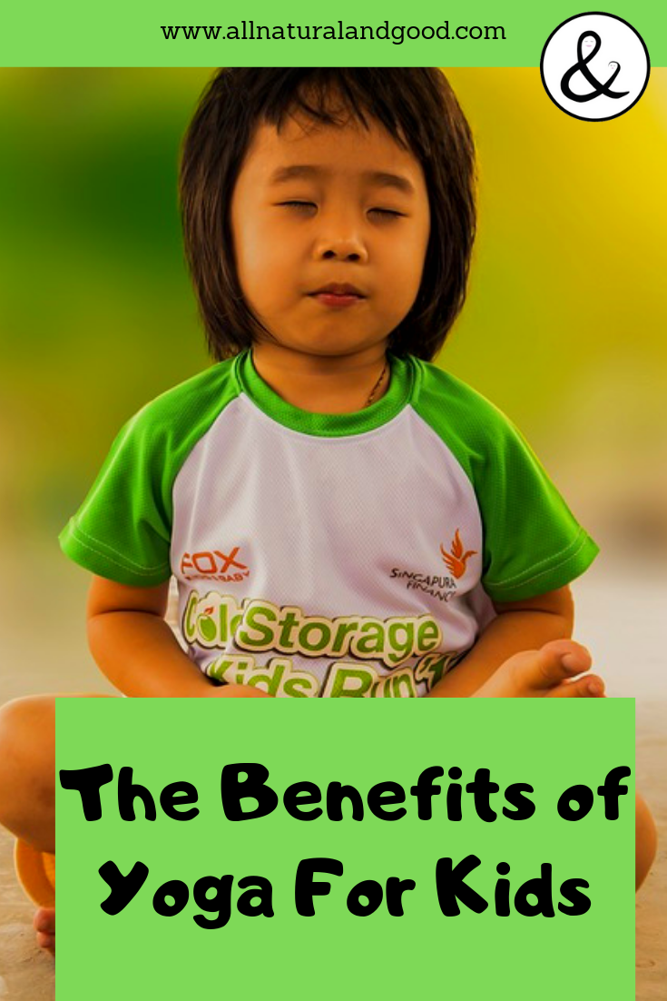 There are so many amazing benefits of yoga for kids including getting exercise, playing, connecting more deeply with the inner-self, developing an intimate relationship with the natural world, enhances flexibility, strength, coordination, and body awareness, improves concentration, sense of calmness and relaxation. #yoga #yogaforkids #yogabenefits