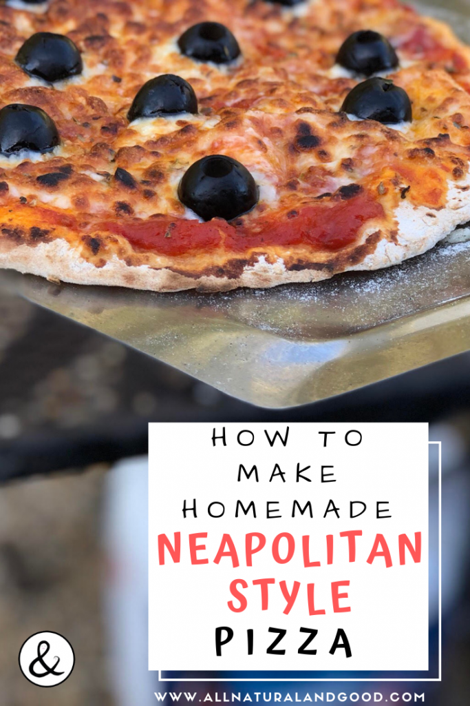 How to Make Homemade Neapolitan Style Pizza at Home