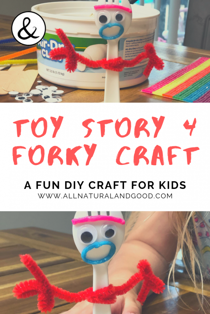 DIY Toy Story Forky Craft