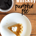 Fireball Whiskey Pumpkin Pie Recipe