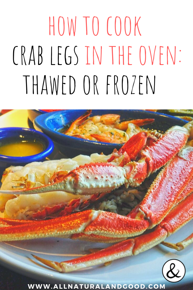 Cooking crab legs can be a challenge and if you don\'t do it right, you can definitely ruin them. Here is how to cook crab legs in the oven whether they are fresh or frozen. For a seafood that is costly, you really don\'t want to mess them up. I finally found the perfect method for re-heating crab legs in the oven while preserving the amazing garlic buttery taste. #crab #crablegs #cookcrablegs #crablegsoven