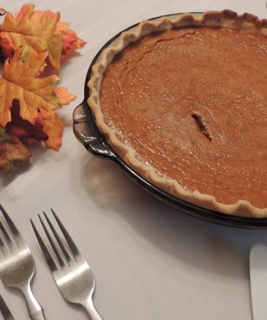 Fireball Pumpkin Pie
