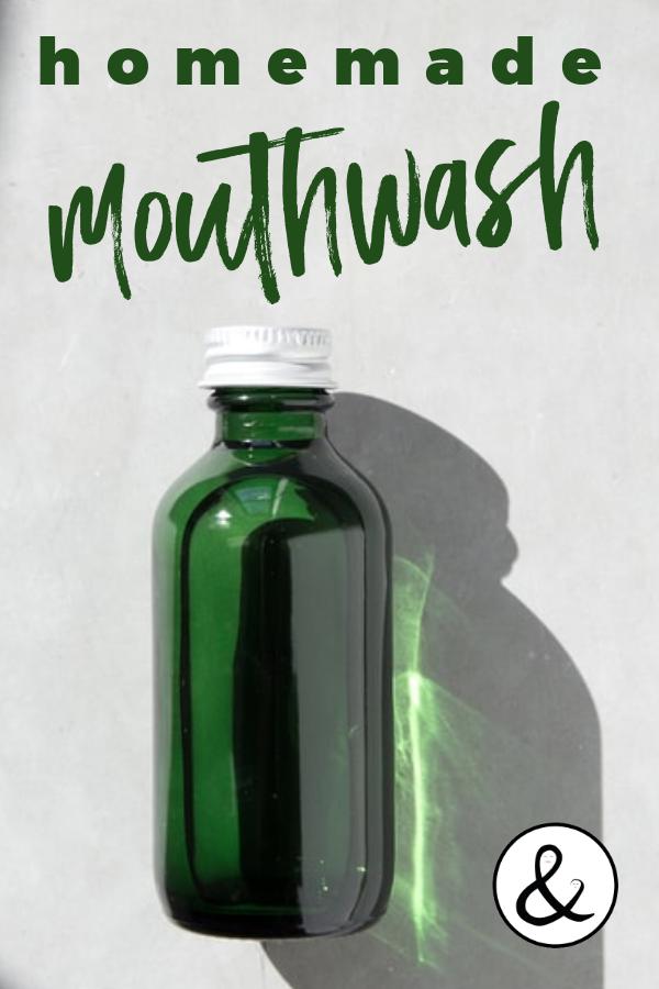 Natural Homemade Mouthwash