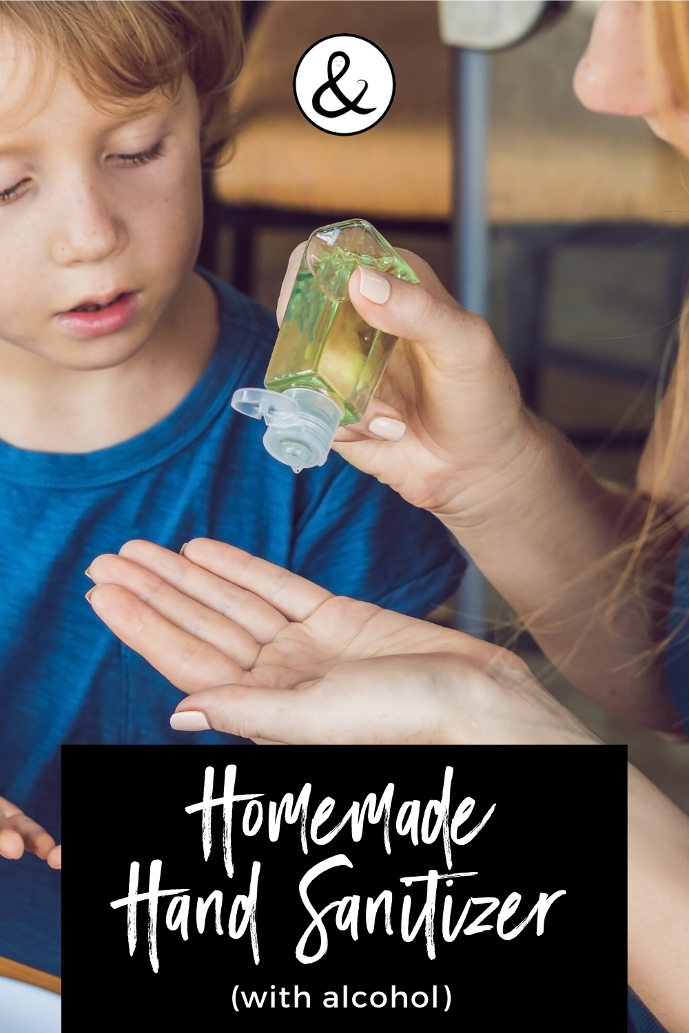 Homemade Hand Sanitizer with Alcohol