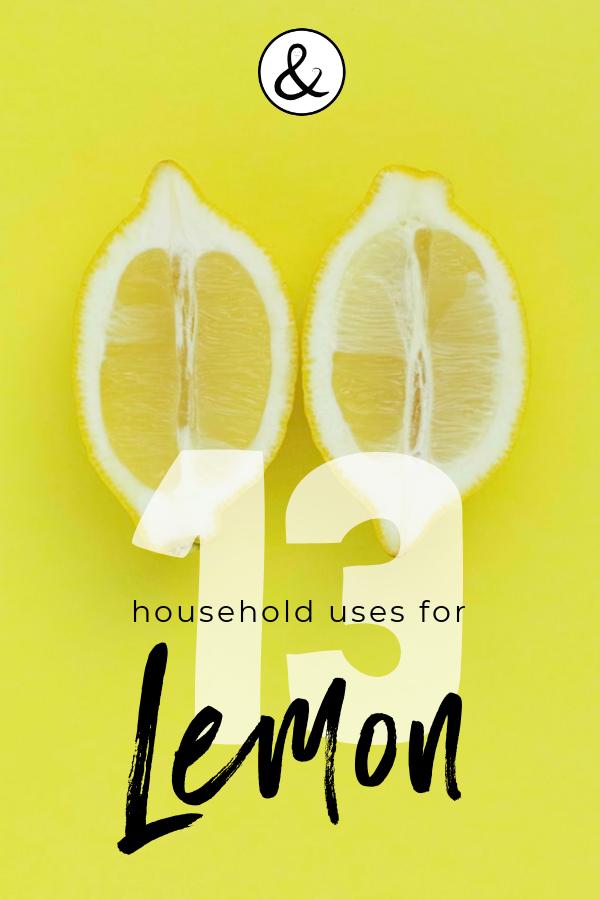 13 Household Uses for Lemon