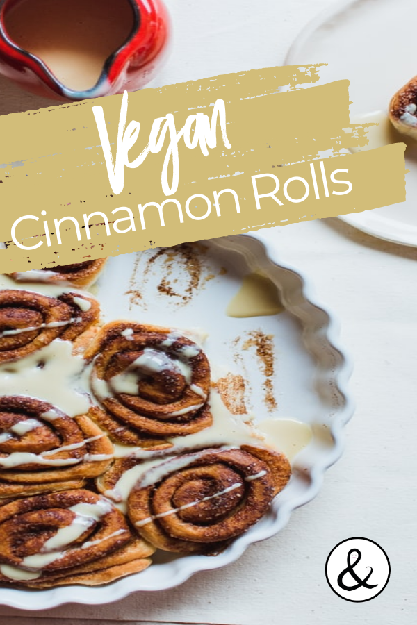 Easy Homemade Vegan Cinnamon Rolls