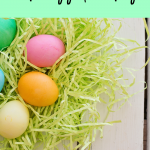 Vegan and Allergy Friendly Easter Egg Decorating