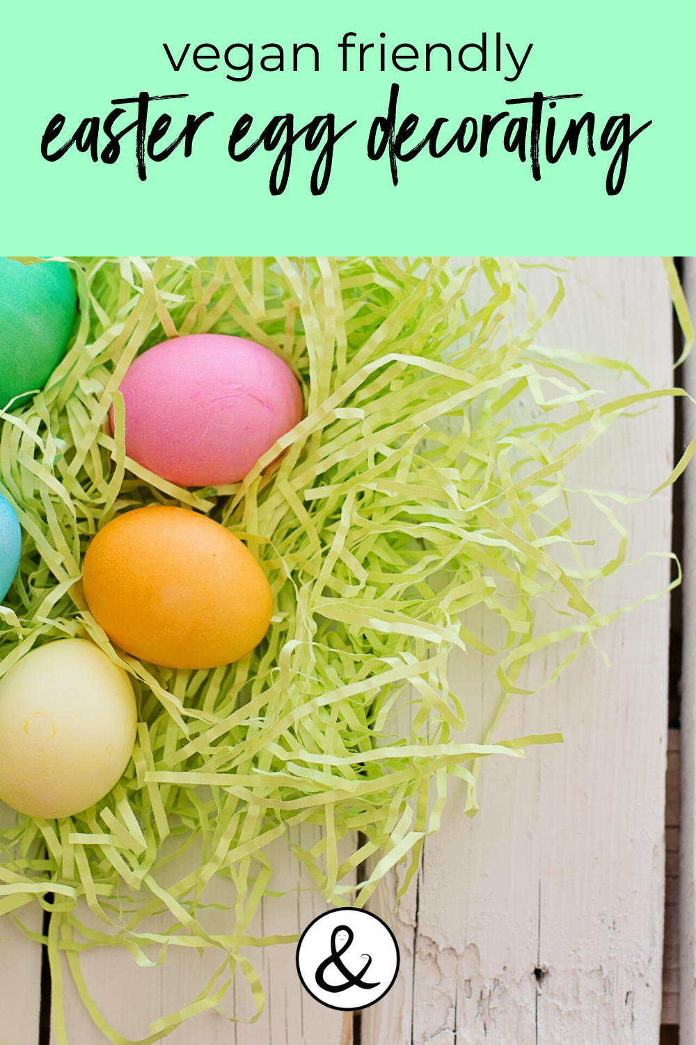 Vegan & Allergy Friendly Easter Egg Decorating