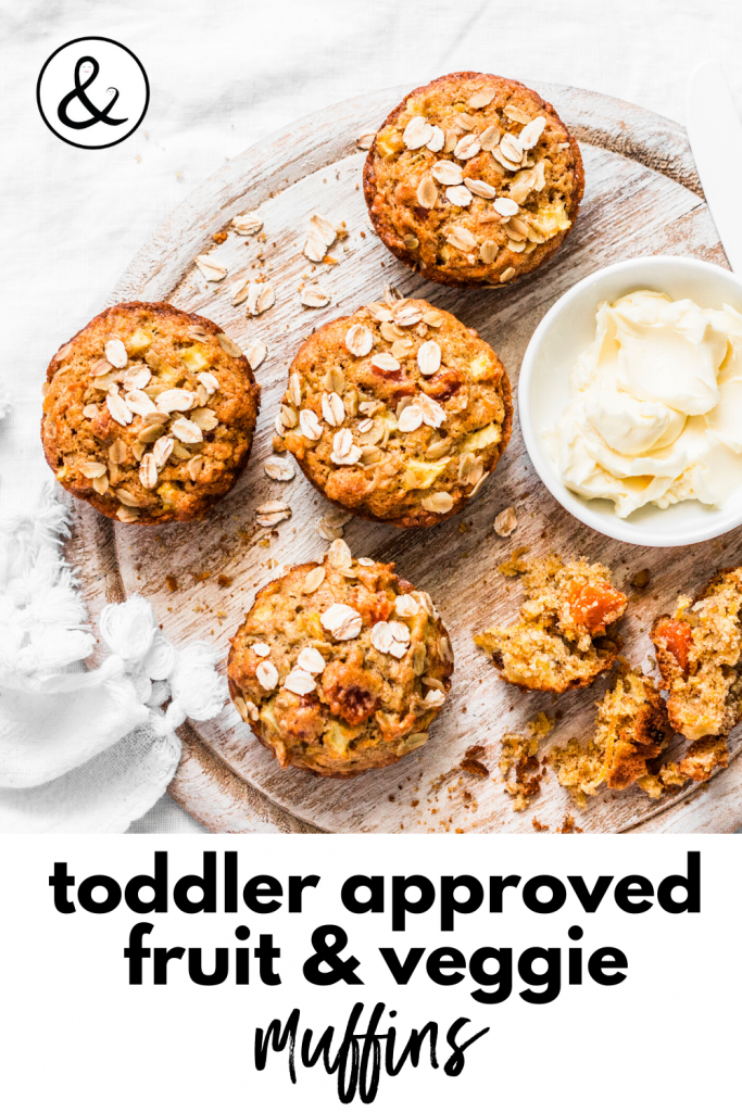 Toddler Approved Fruit And Veggie Muffins