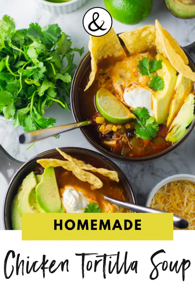 Vitaclay Chicken Tortilla Soup Recipe