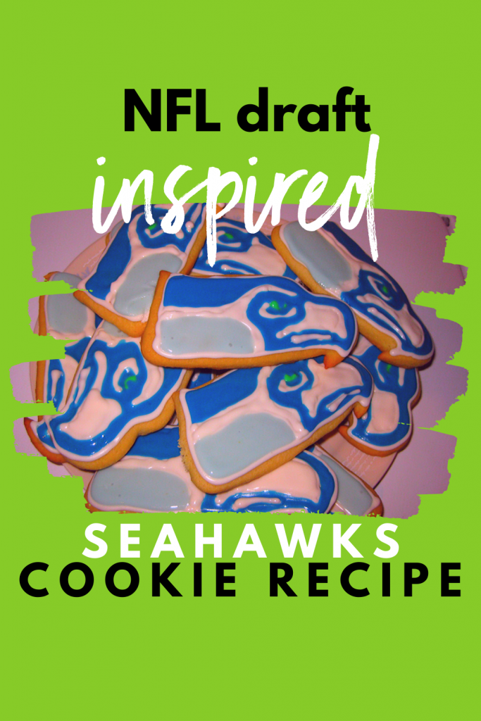 Make Your Own Seahawks Cookies