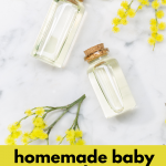 Homemade Baby Products Using Essential Oils