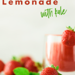 Frozen Strawberry Lemonade With Kale