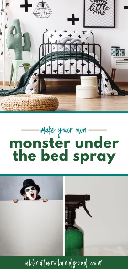 DIY Monster Under the Bed Spray