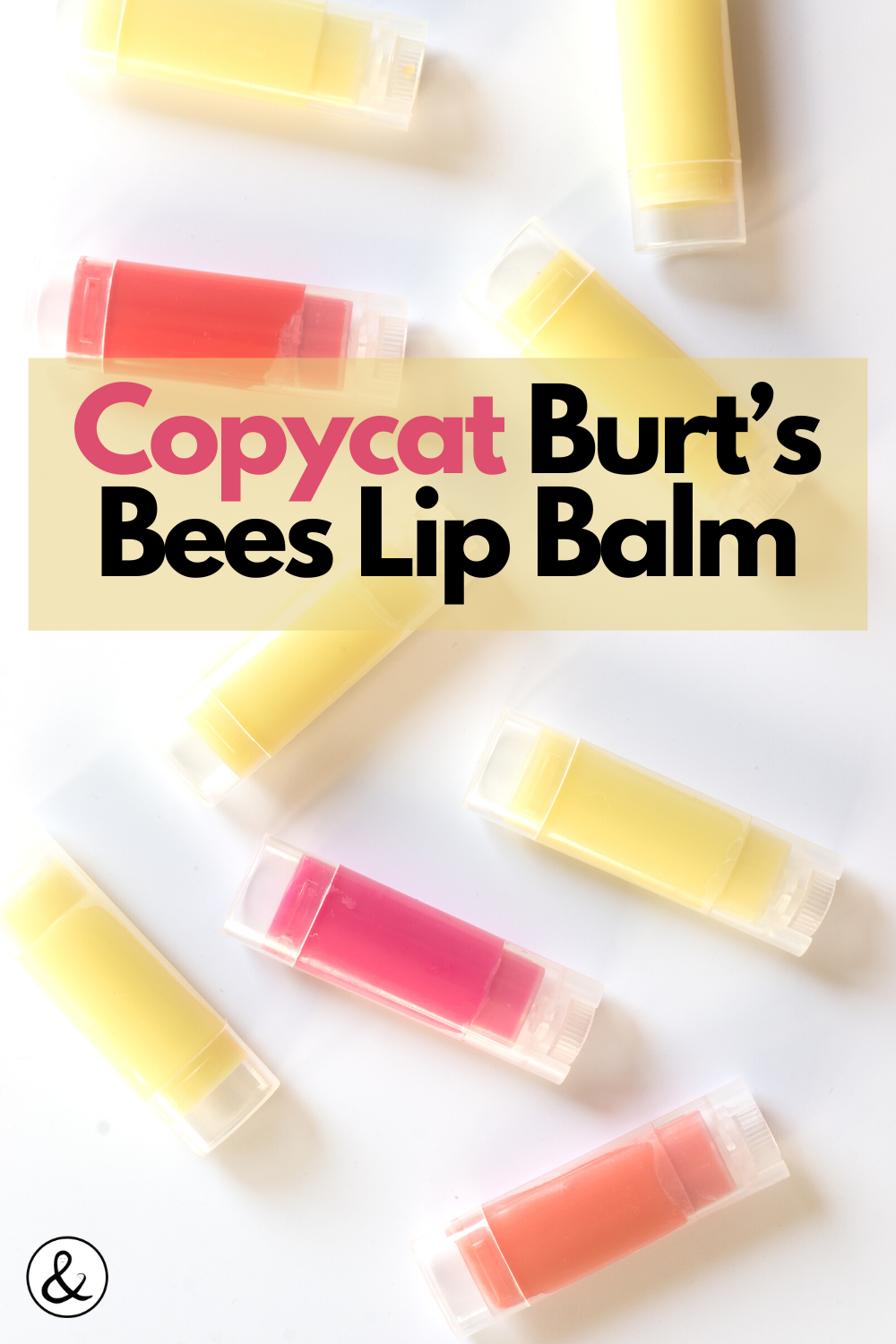 Copy Cat Burt's Bees Lip Balm
