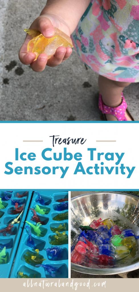 Treasure Ice Cube Sensory Activity