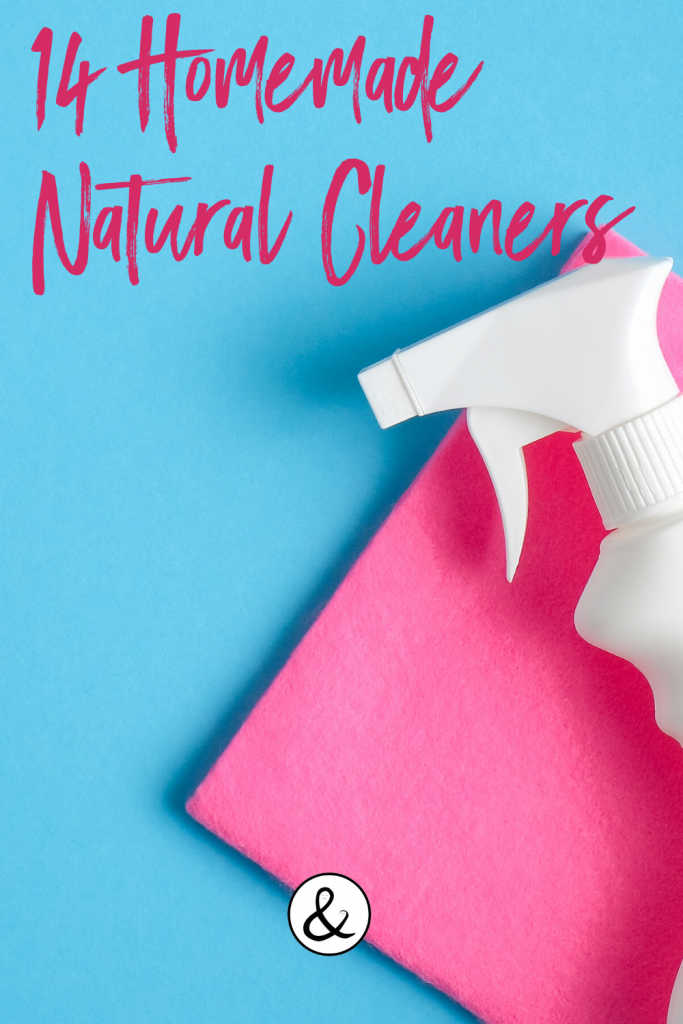 14 Homemade Natural Cleaners