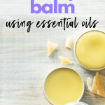 DIY Diaper Balm Using Essential Oils