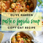 Copy Cat Olive Garden Pasta e Fagioli Soup Recipe