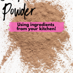DIY Face Powder Using Ingredients in Your Kitchen