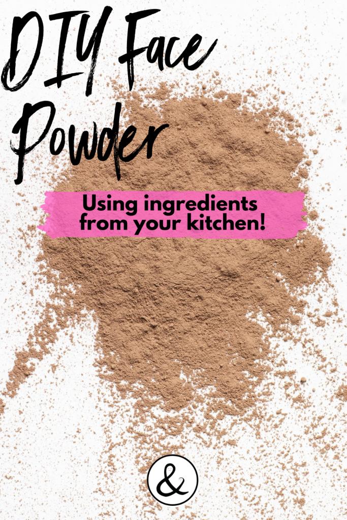 DIY Face Powder Using Ingredients in Your Kitchen