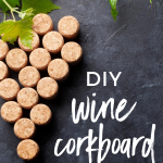 DIY Wine Cork Board