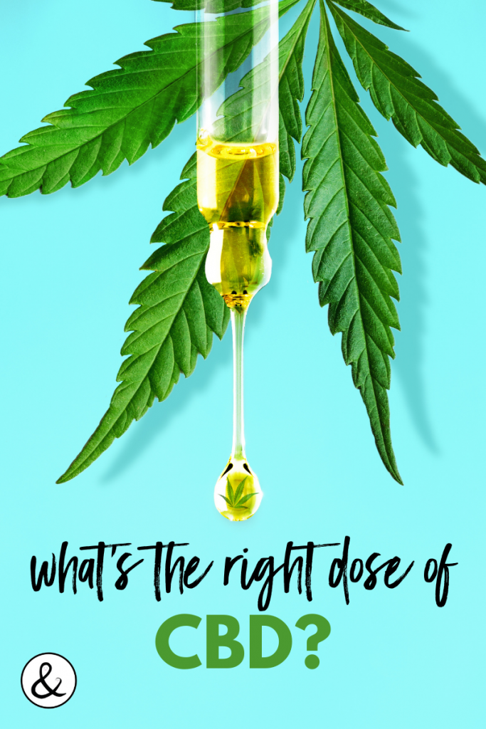 What's the Right Dose of CBD?