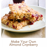 Make Your Own Almond Cranberry Power Bars