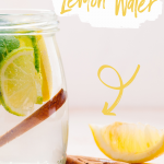 Cinnamon Lemon Water