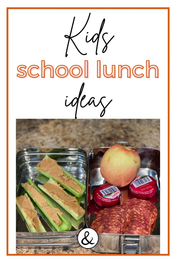 School Lunch Ideas For Kids
