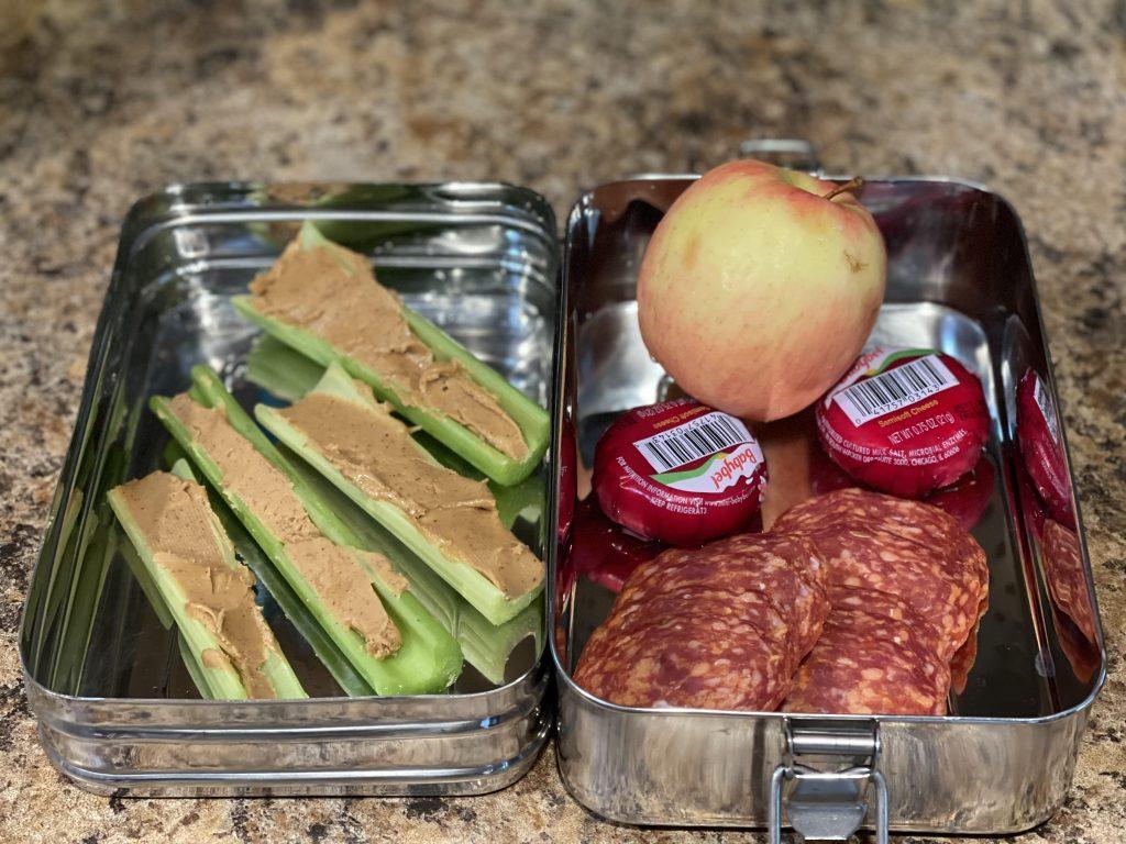 Homemade Lunchable Bento Box