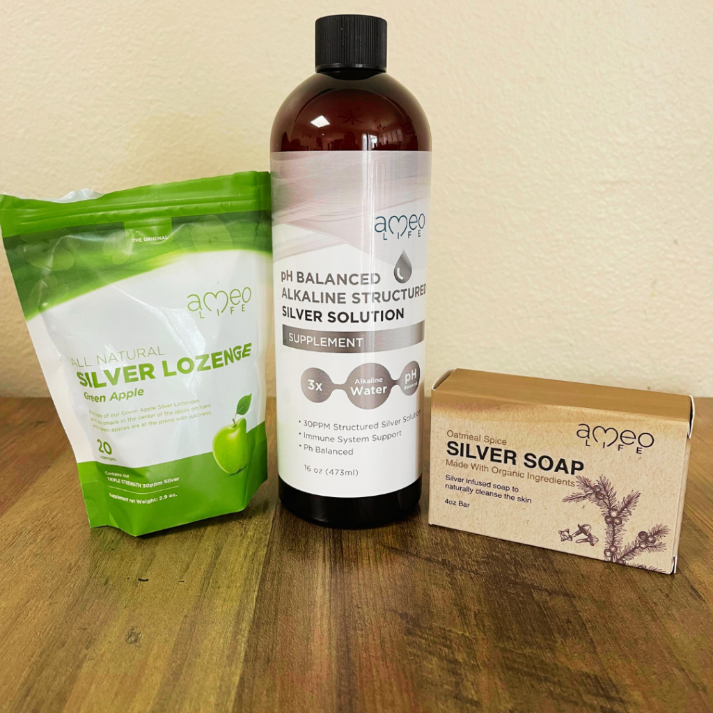 Ameo Life Silver-Based Wellness Products